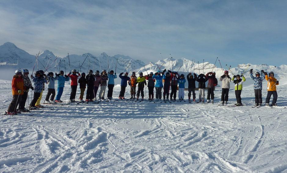 Skilager der 6. Klassen