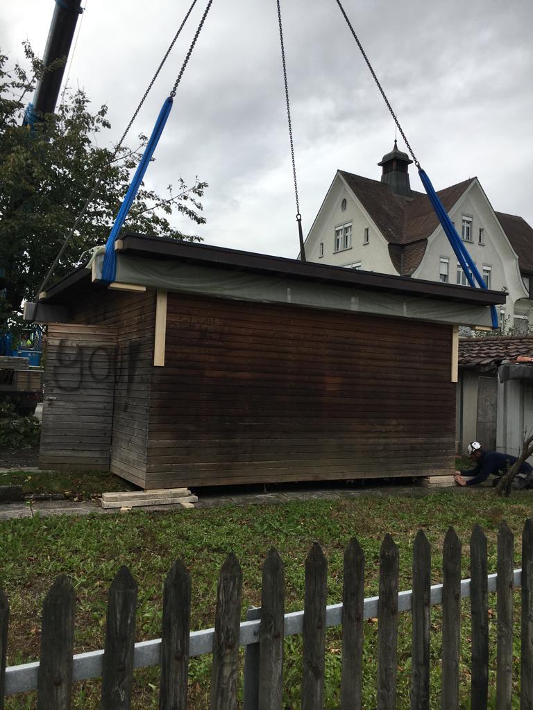 Die ersten Vorboten deuten auf den baldigen Baubeginn!