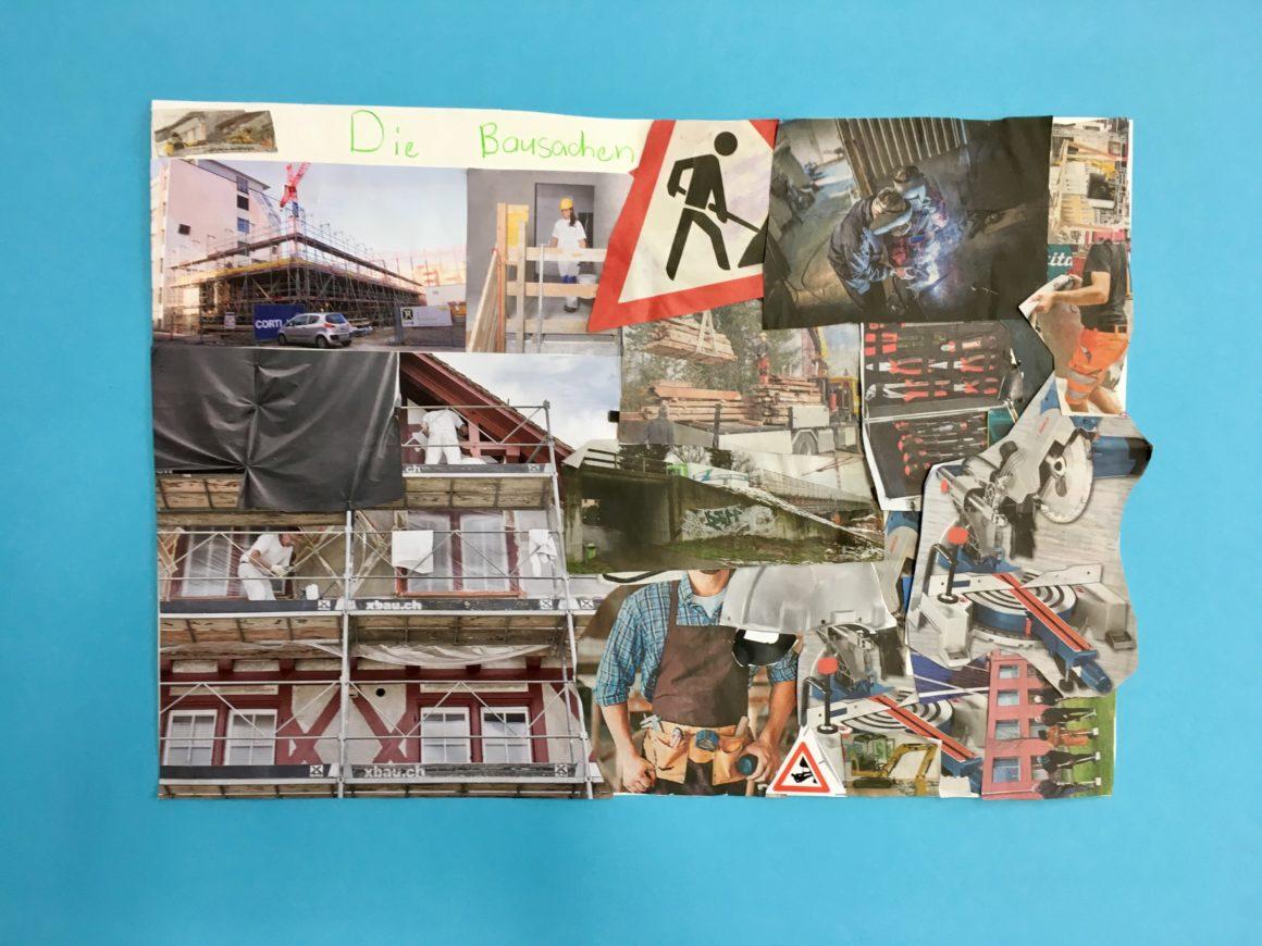 11: Bau-Collage – Beitrag der 2.Klasse