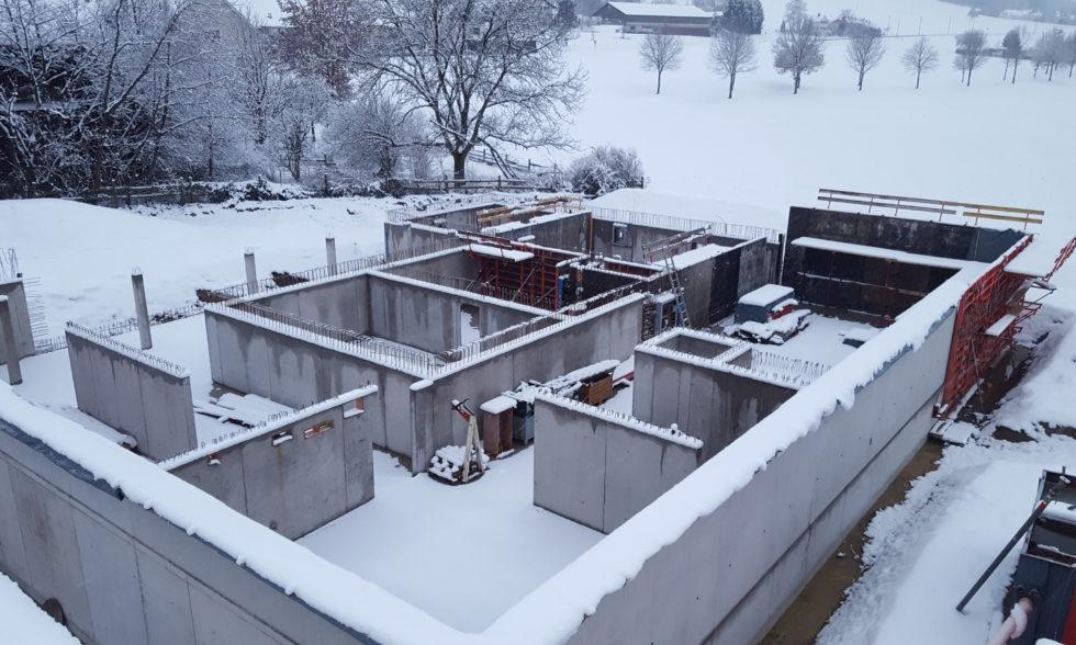 Stand/Impressionen Baustelle Januar 2019
