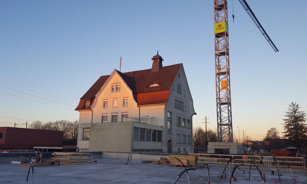 Stand/Impressionen Baustelle Februar 2019