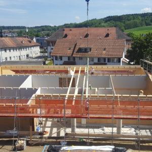 Stand/Impressionen Baustelle Mai 2019