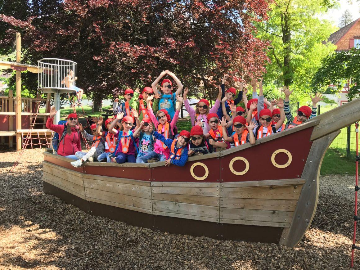 25: Piraten am bauen – Beitrag des Kindergarten