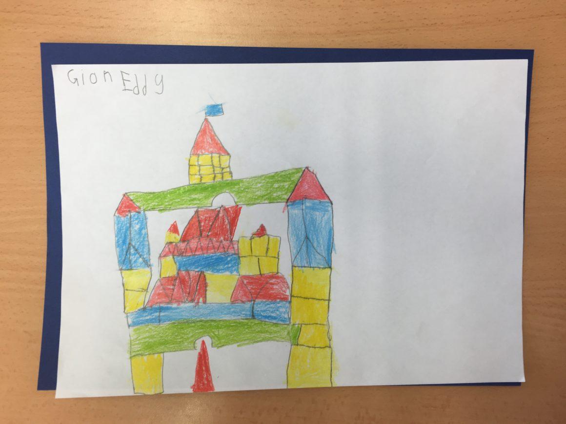 24: Mit Formen bauen – Beitrag der 1.Klasse